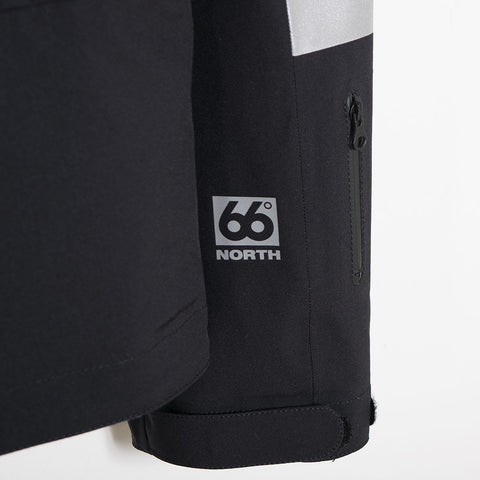 Soulland x 66°NORTH Vala Tech Jacket - Black  - CARTOCON