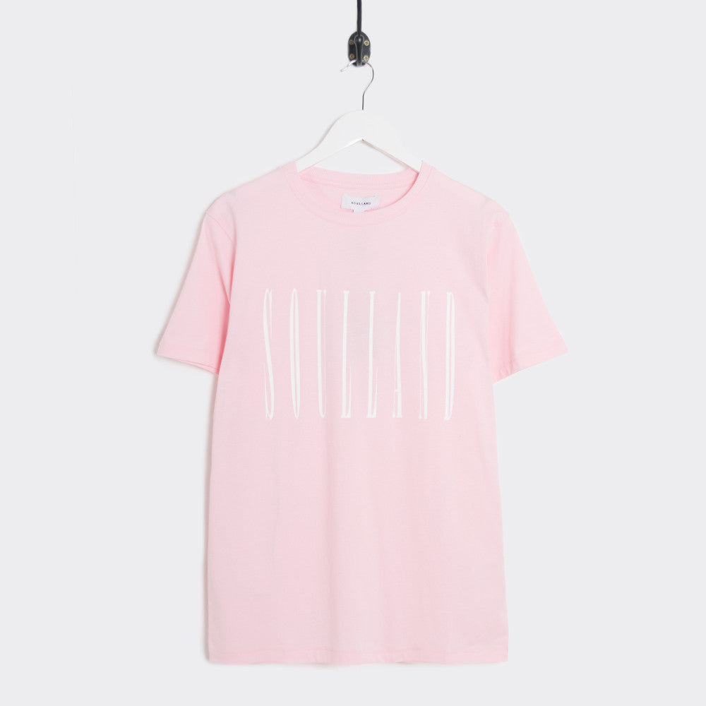 Soulland Barker T-Shirt - Light Pink - 1