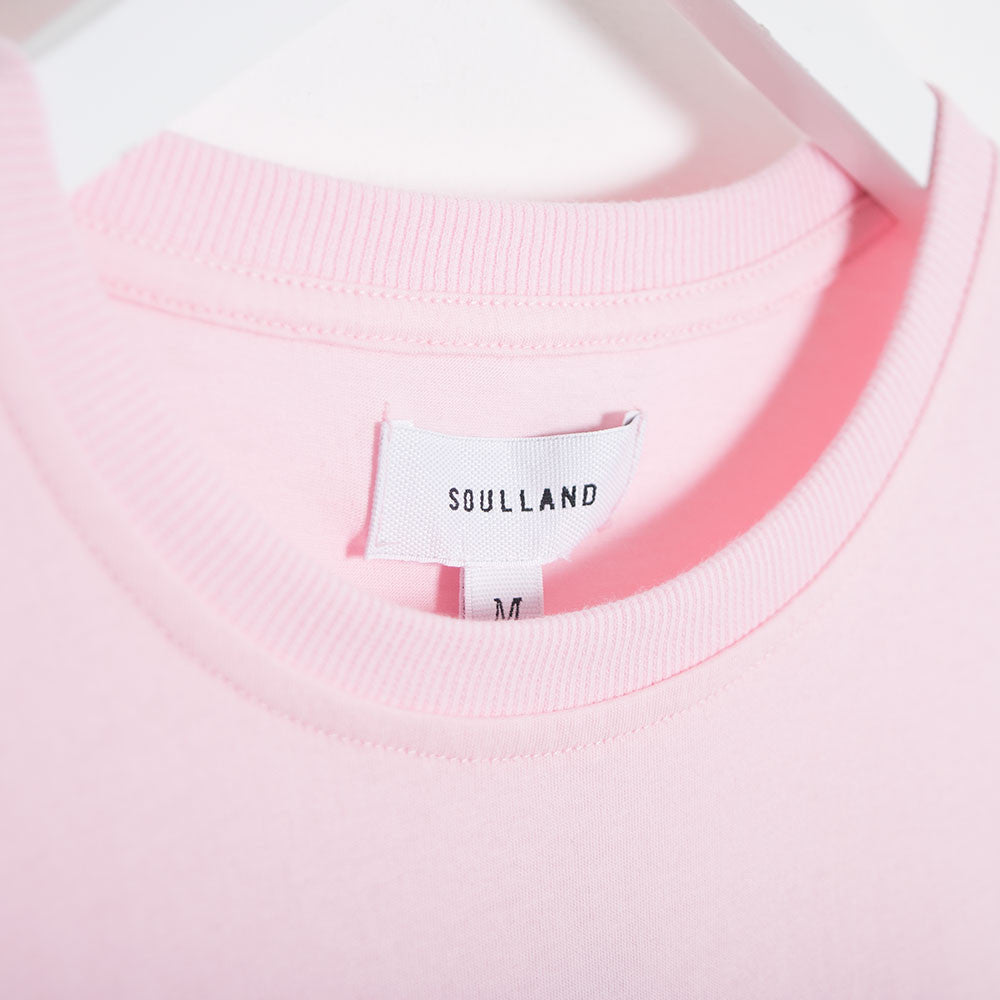 Soulland Barker T-Shirt - Light Pink - 3