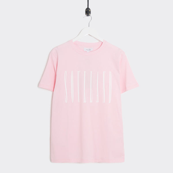 Soulland Barker T-Shirt - Light Pink  - CARTOCON