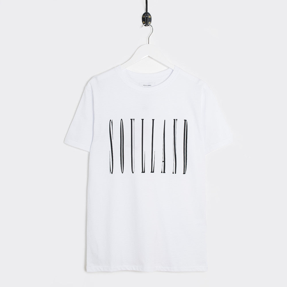 Soulland Barker T-Shirt - White  - CARTOCON