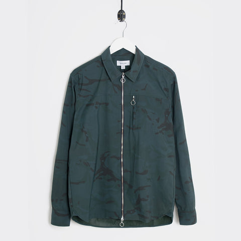Soulland Thoresen Jacket - Green Camo  - CARTOCON