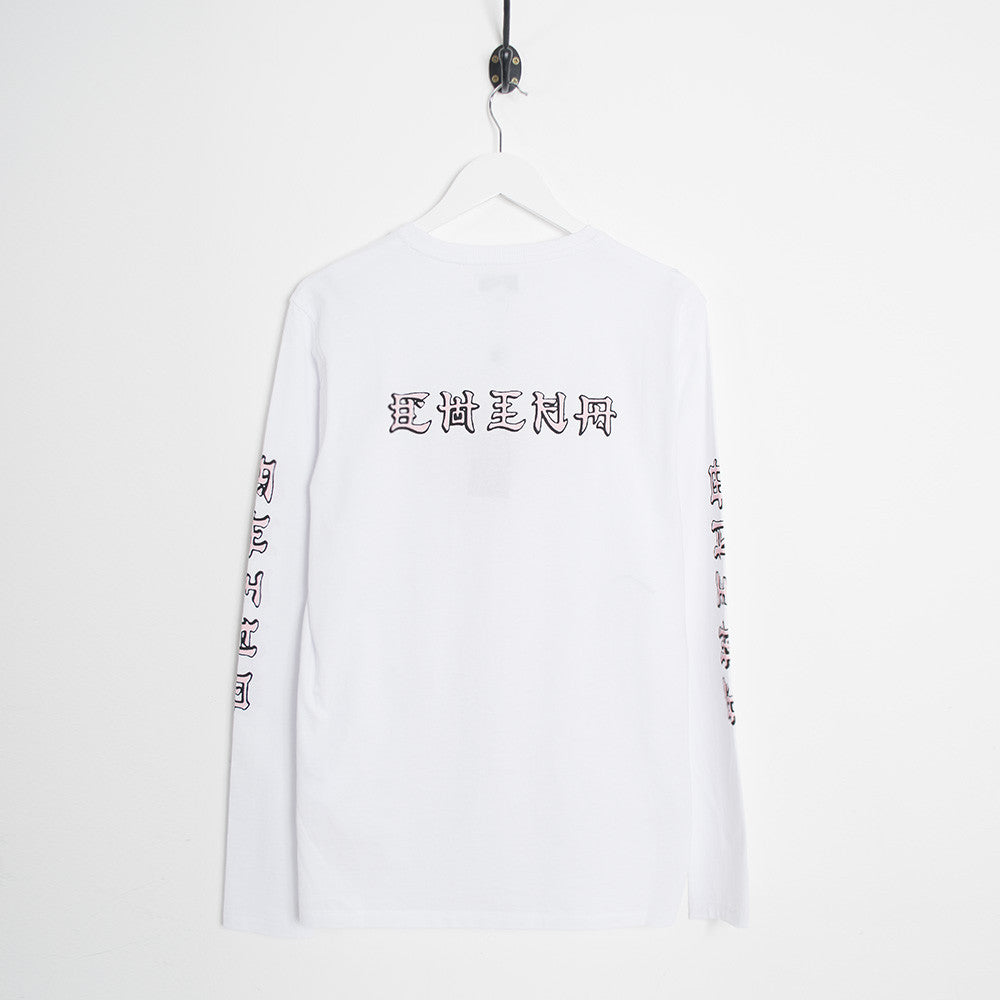 Soulland Chen Long Sleeve T-Shirt - White - 4