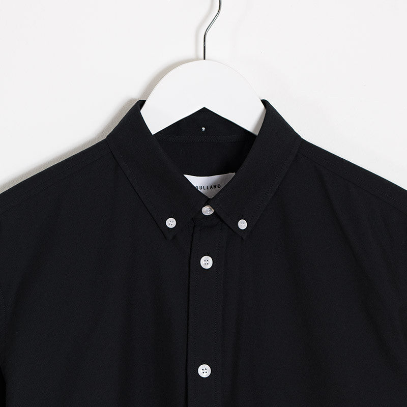 Soulland Goldsmith Oxford Shirt – Black - 2