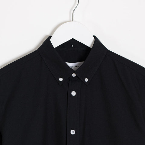 Soulland Goldsmith Oxford Shirt – Black  - CARTOCON