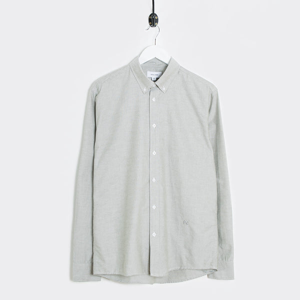 Soulland Goldsmith Button Down Shirt - Green  - CARTOCON