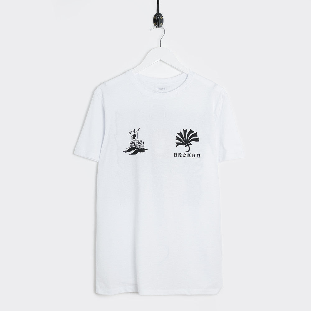 Soulland Kidder T-Shirt - White - 1