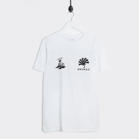 Soulland Kidder T-Shirt - White  - CARTOCON