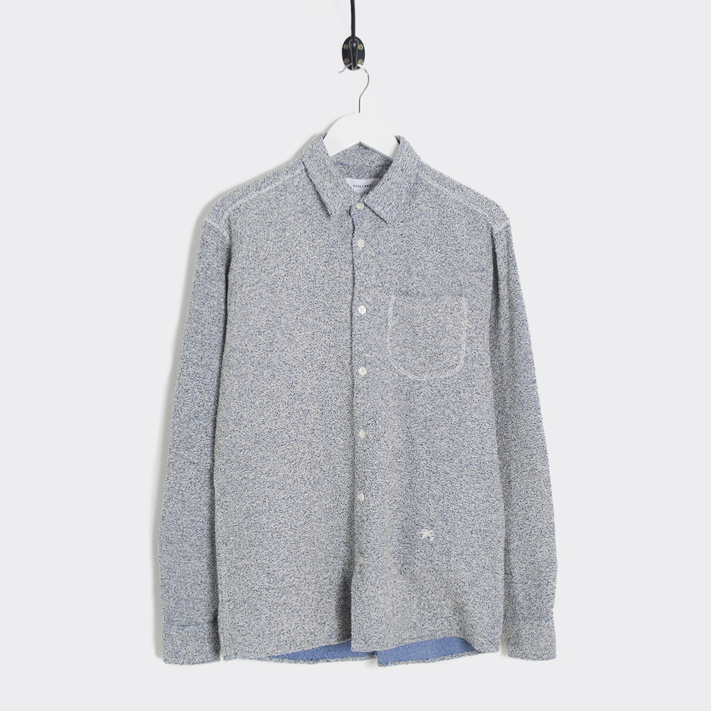 Soulland Logan Shirt w. Pocket - Grey