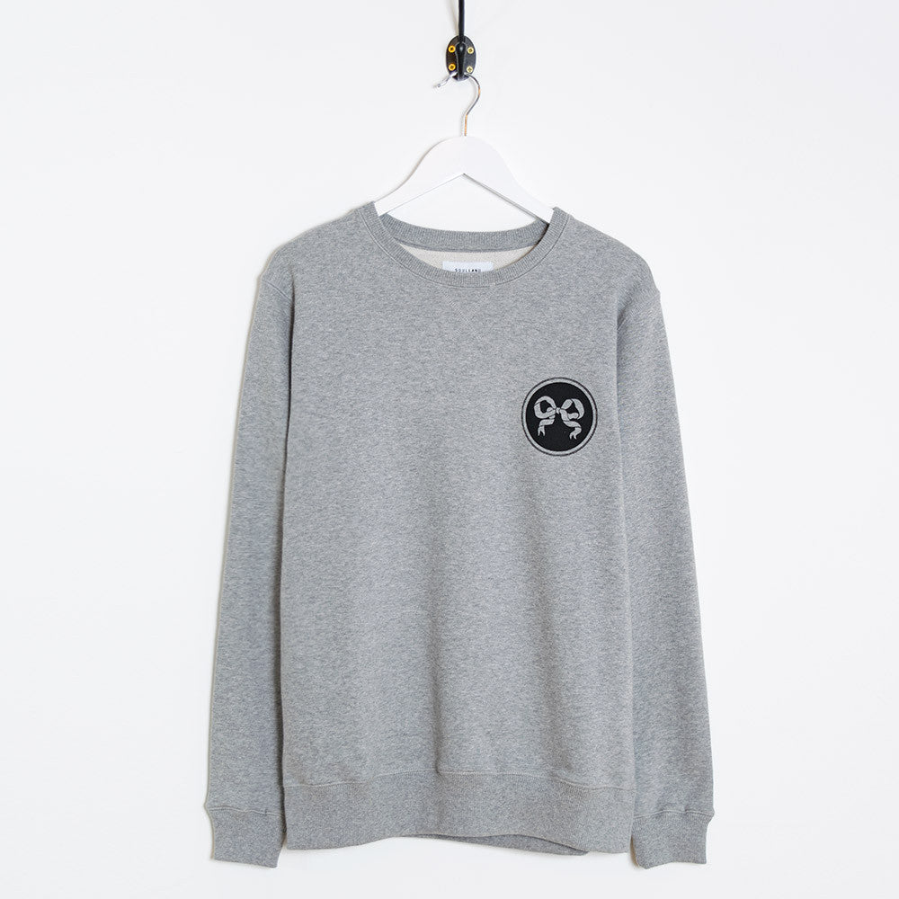 Soulland Rainbow Sweatshirt – Grey - 1