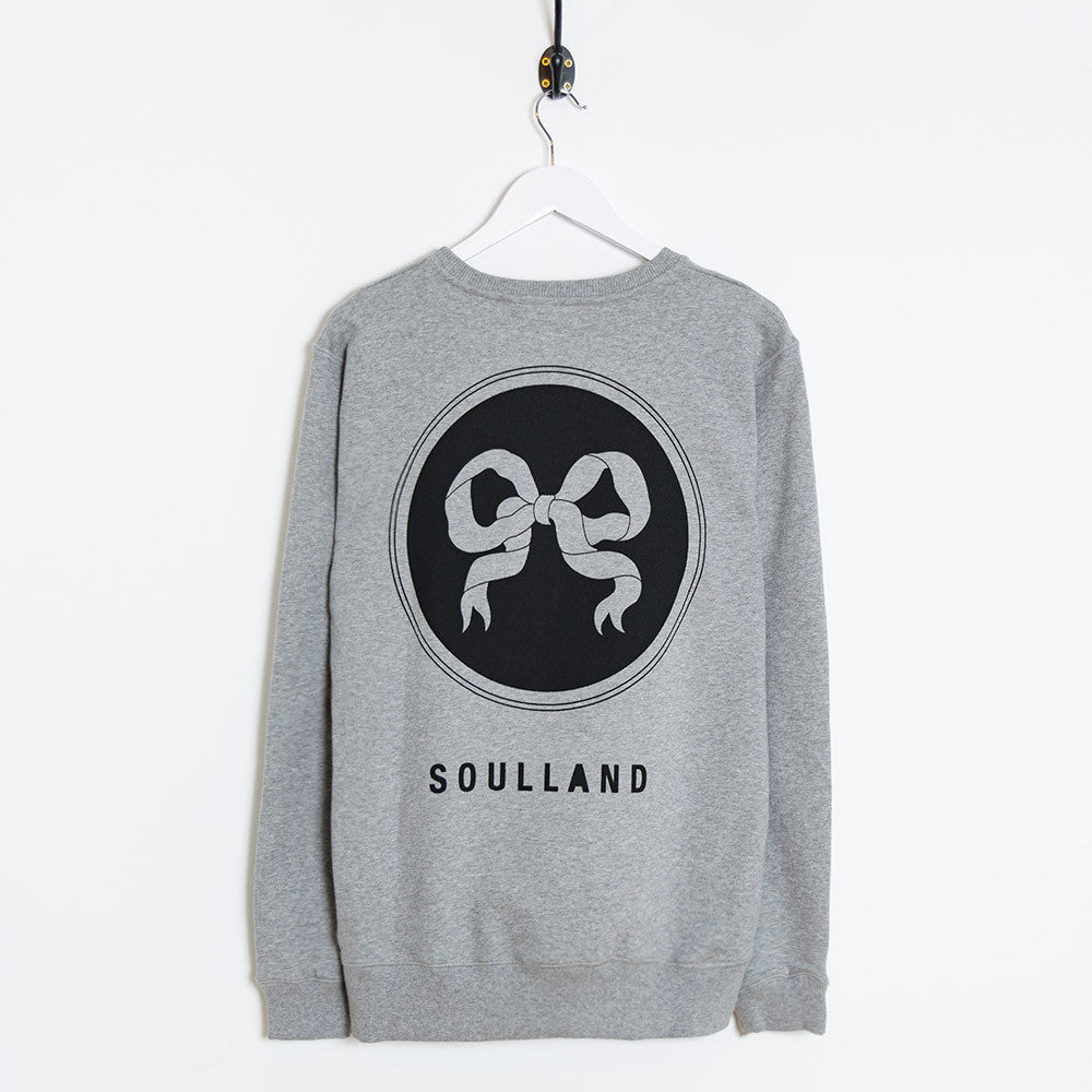 Soulland Rainbow Sweatshirt – Grey - 2