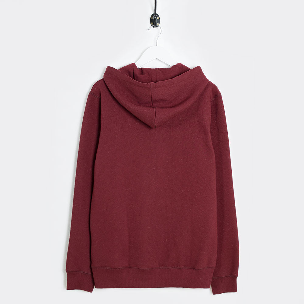 Soulland Samoth Embroidered Hoodie - Bordeaux - 4