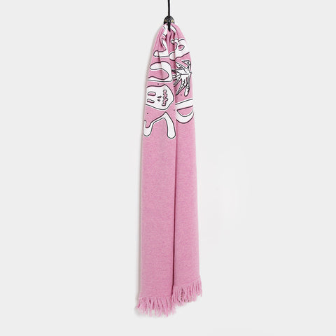 Soulland Coquelin Wool Scarf - Rose Pink Scarf - CARTOCON