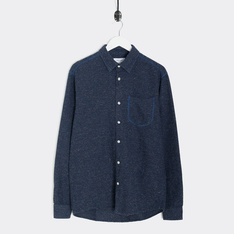 Soulland Logan Shirt - Navy Shirt - CARTOCON
