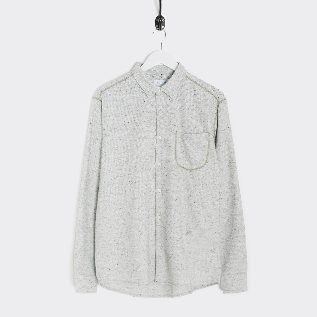 Soulland Logan Shirt - Light Grey