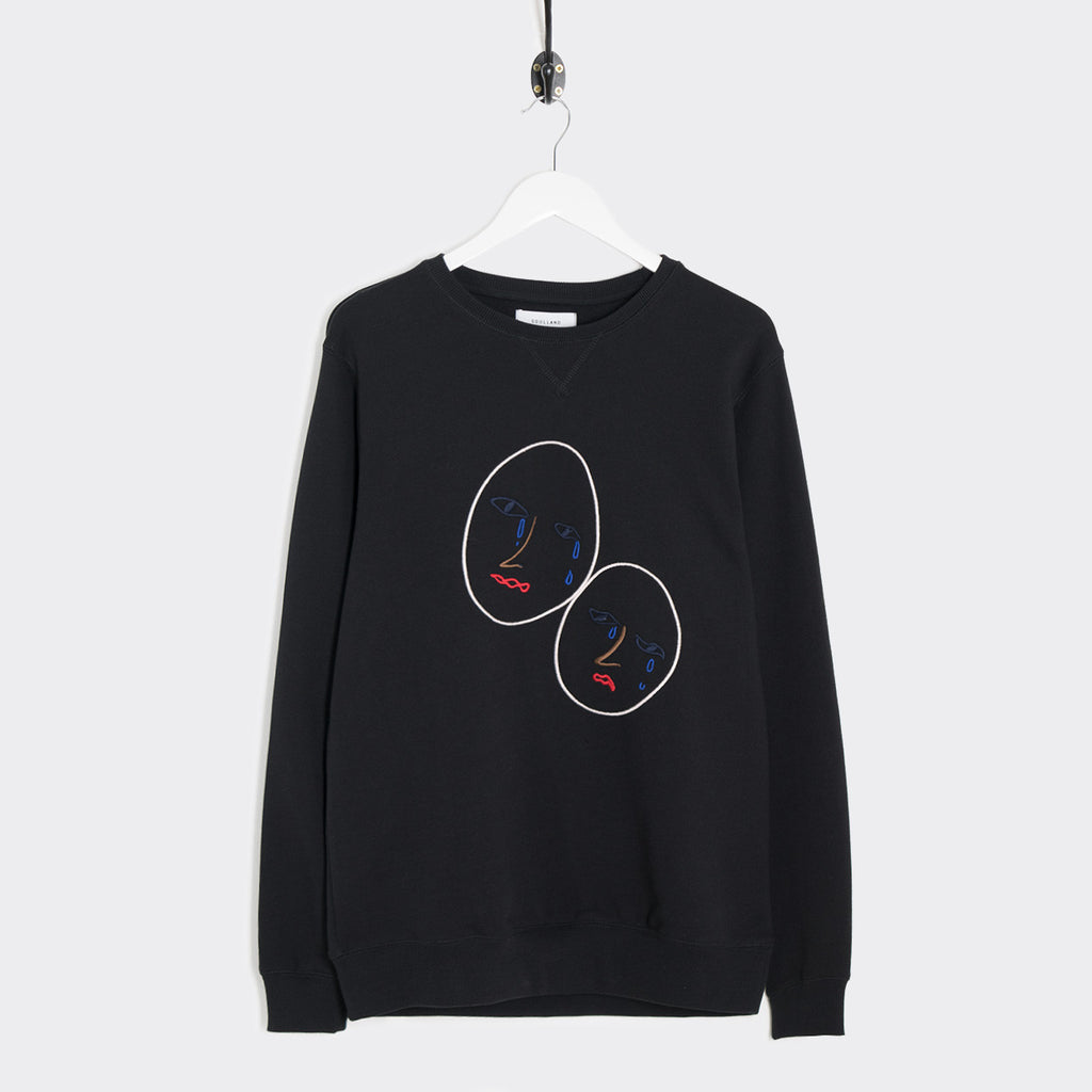 Soulland Joseph Sweatshirt - Black