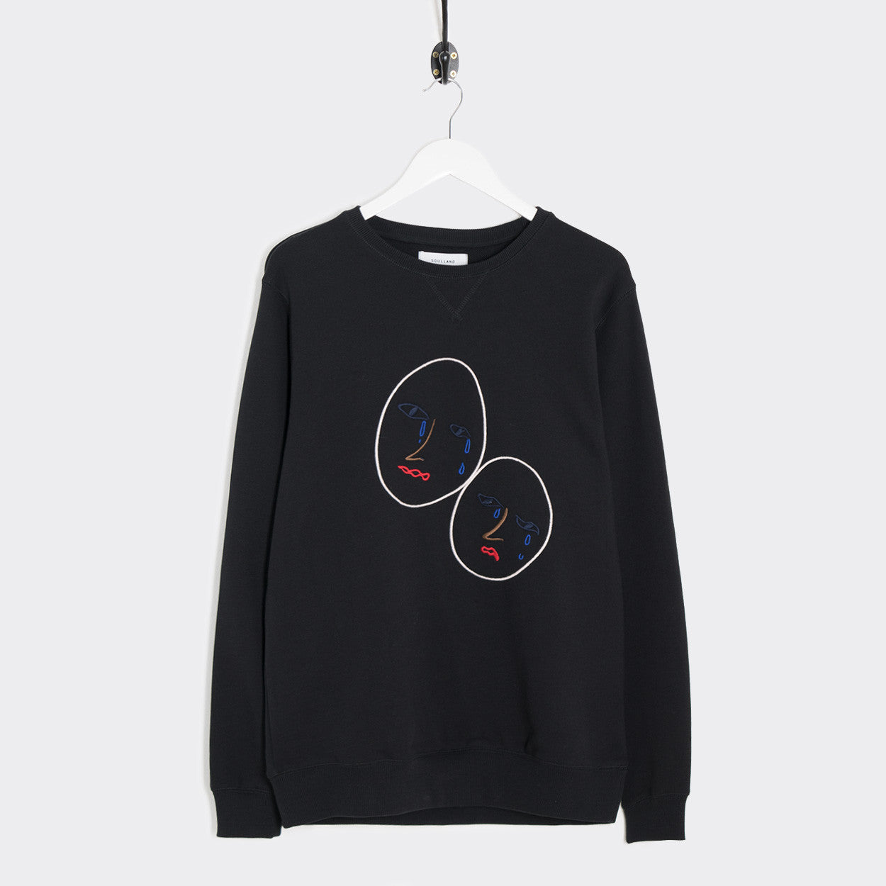 Soulland Joseph Sweatshirt - Black  - CARTOCON