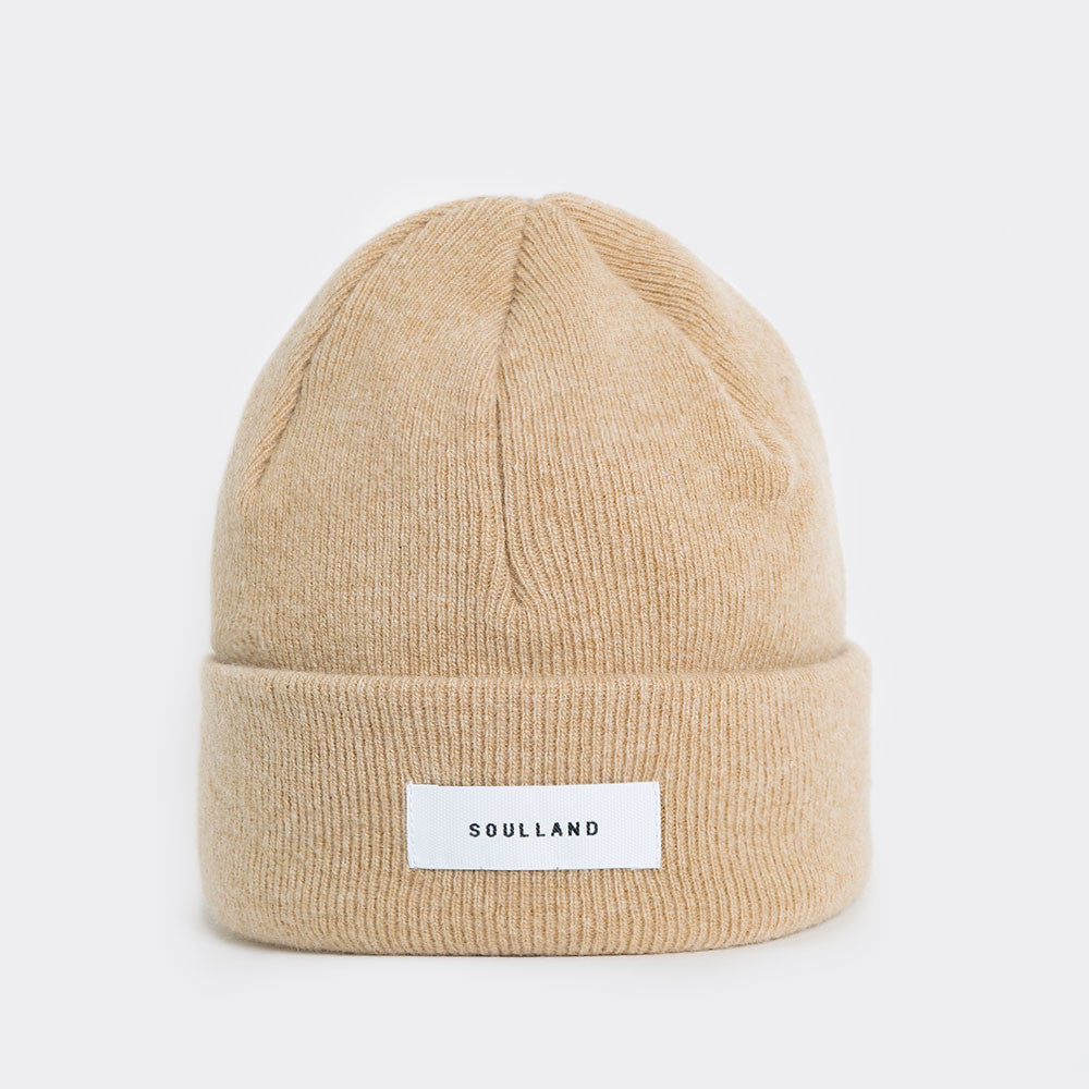 Soulland Villy Beanie - Beige  - CARTOCON