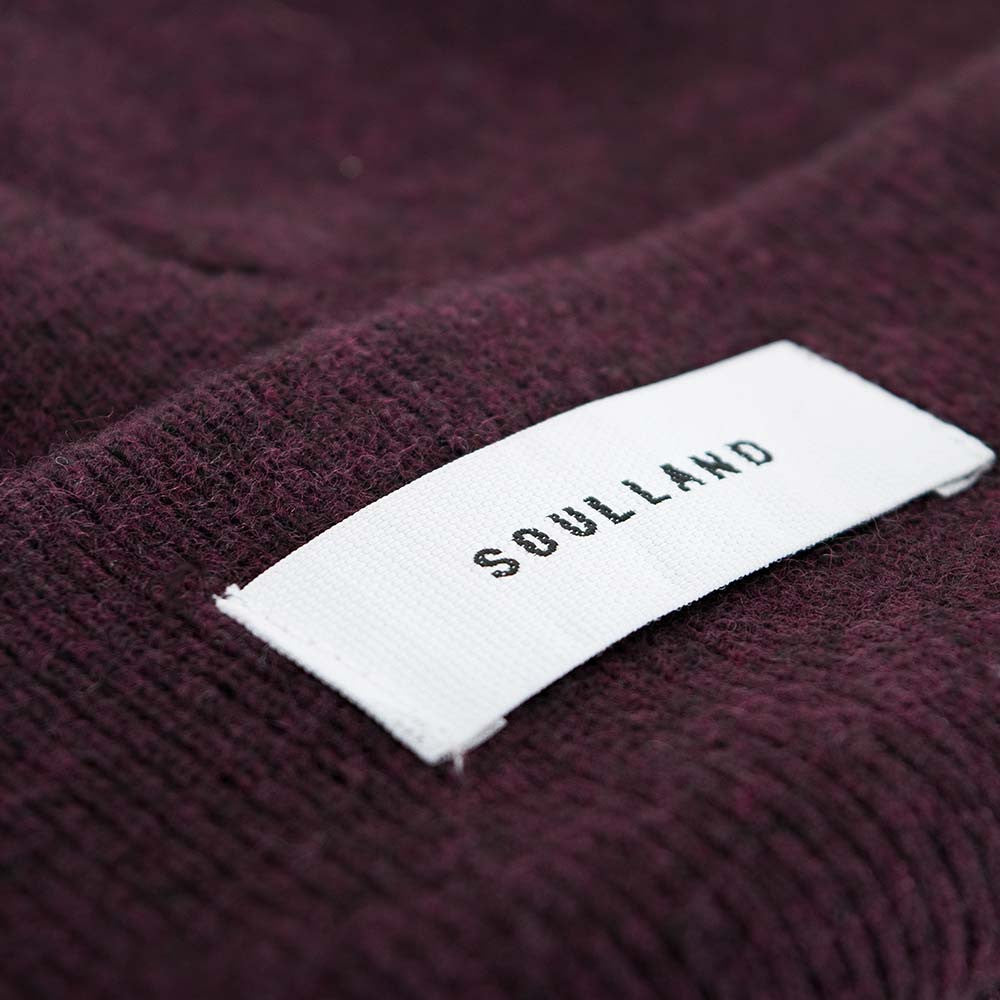 Soulland Villy Beanie – Bordeaux - 3