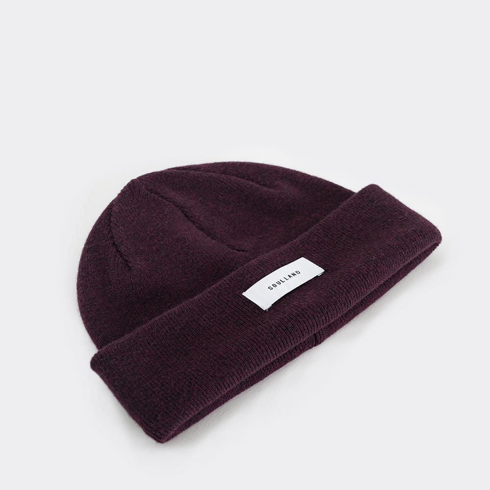 Soulland Villy Beanie – Bordeaux - 2
