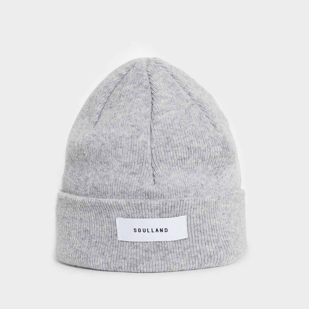 Soulland Villy Beanie – Light Grey - 1