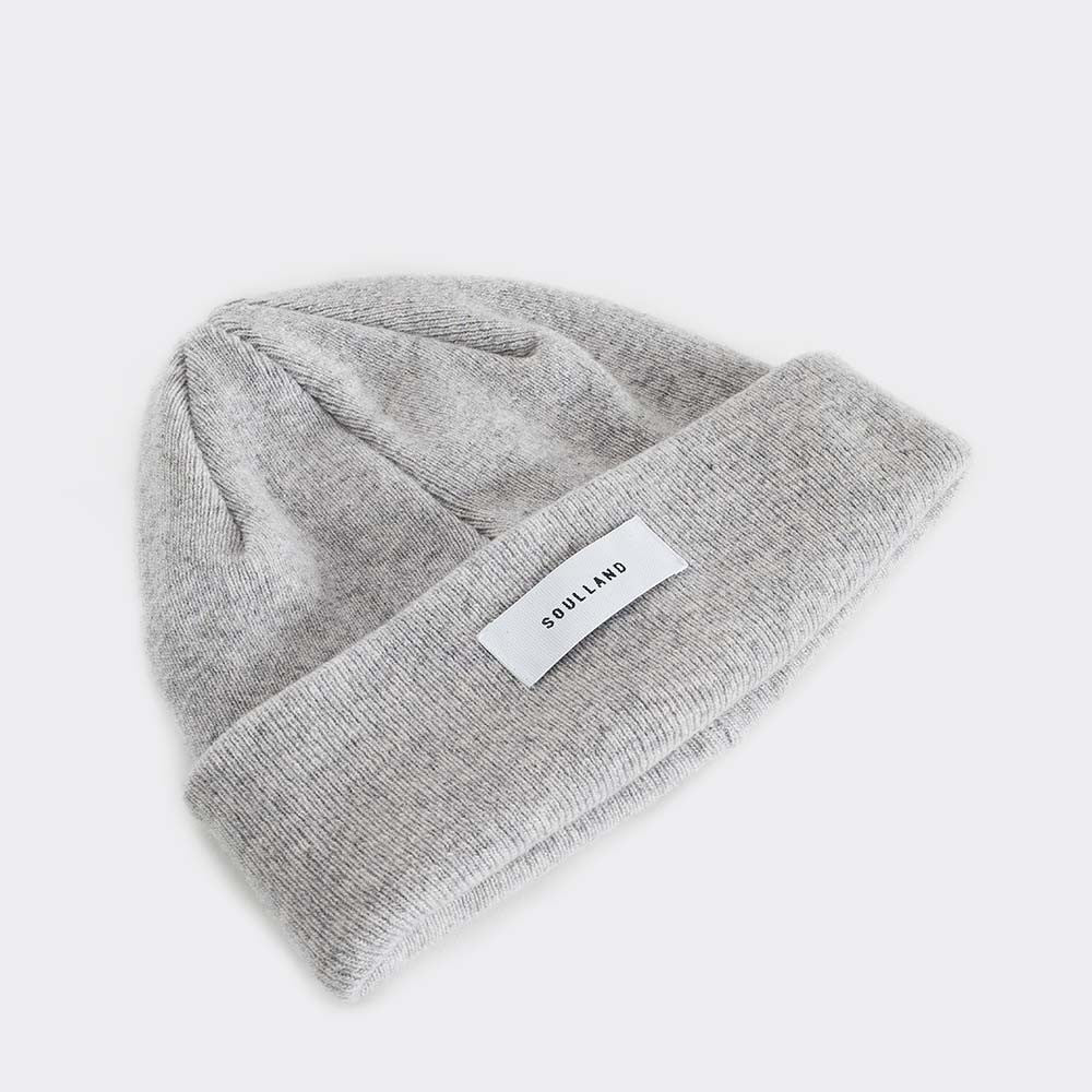 Soulland Villy Beanie – Light Grey - 2