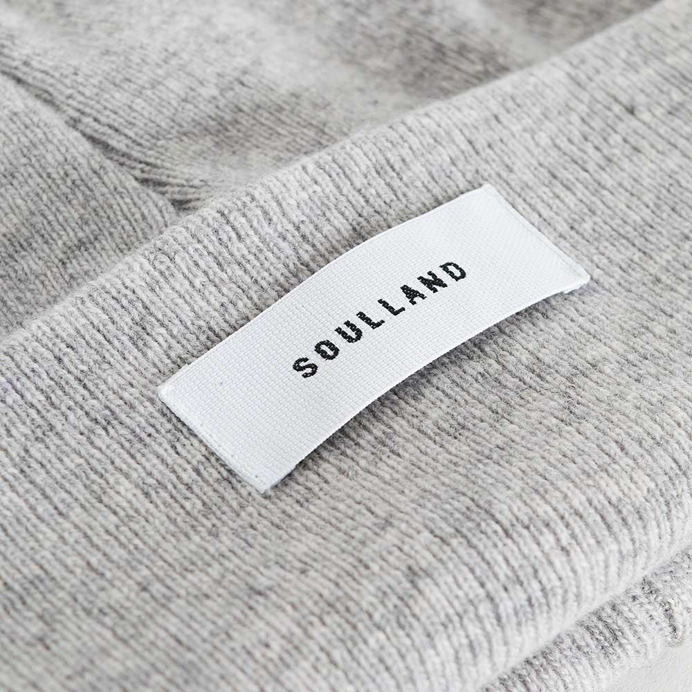 Soulland Villy Beanie – Light Grey - 3
