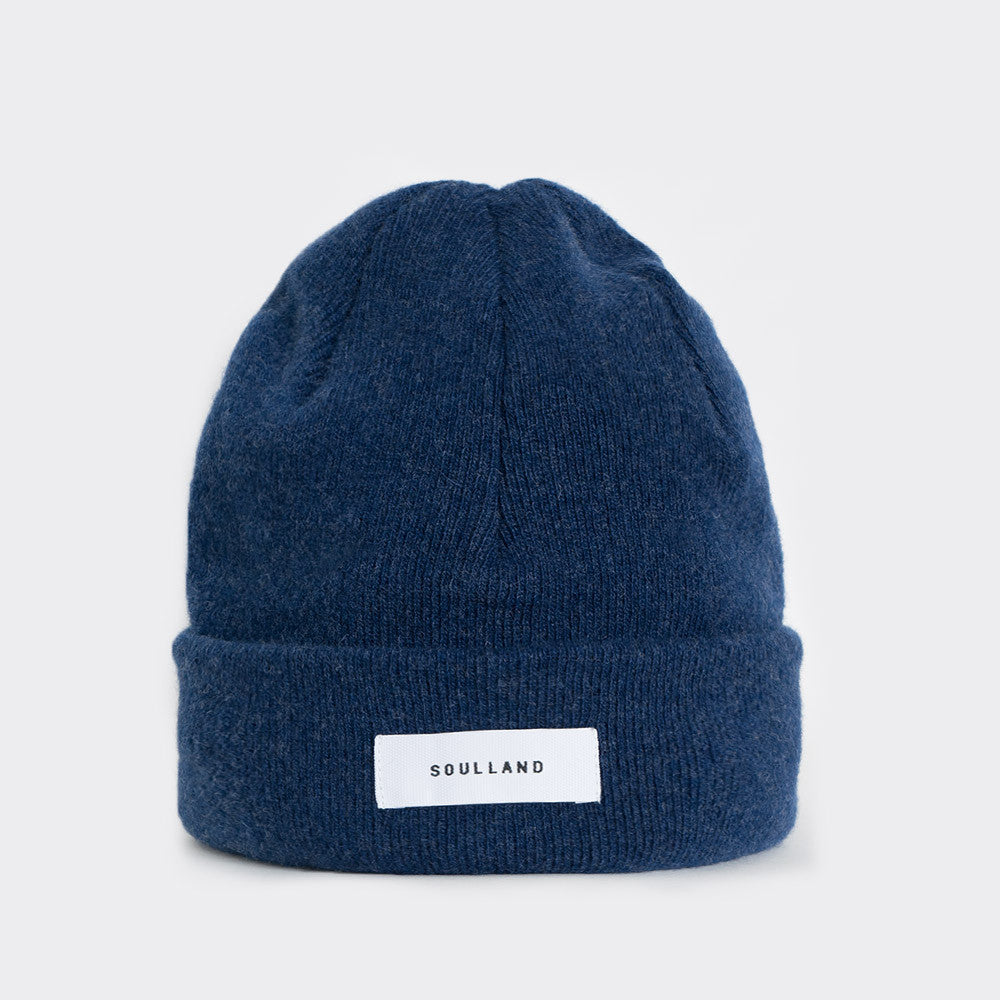 Soulland Villy Beanie - Navy - 1