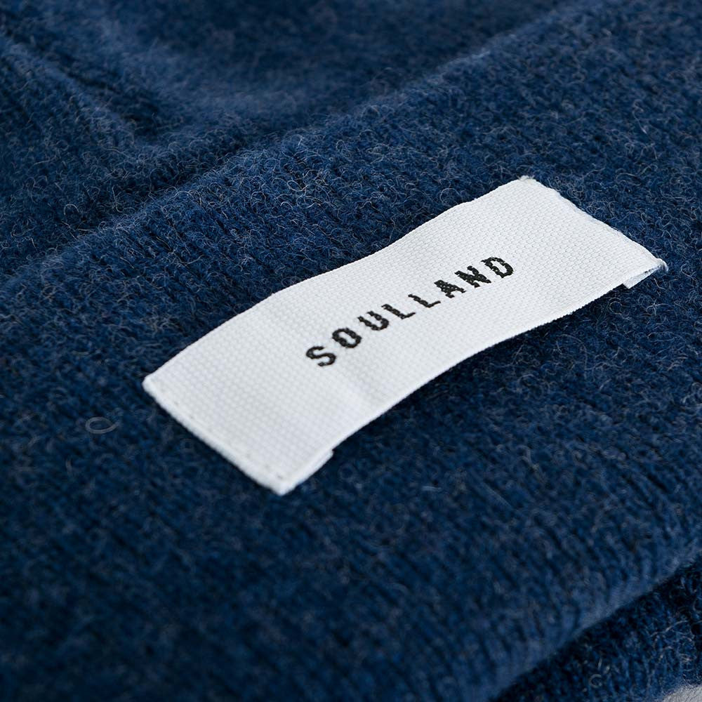 Soulland Villy Beanie - Navy - 3