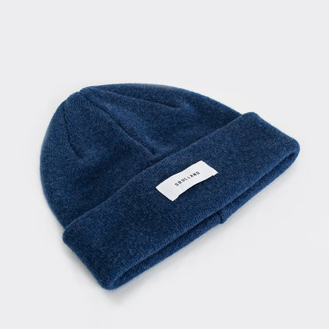 Soulland Villy Beanie - Navy  - CARTOCON