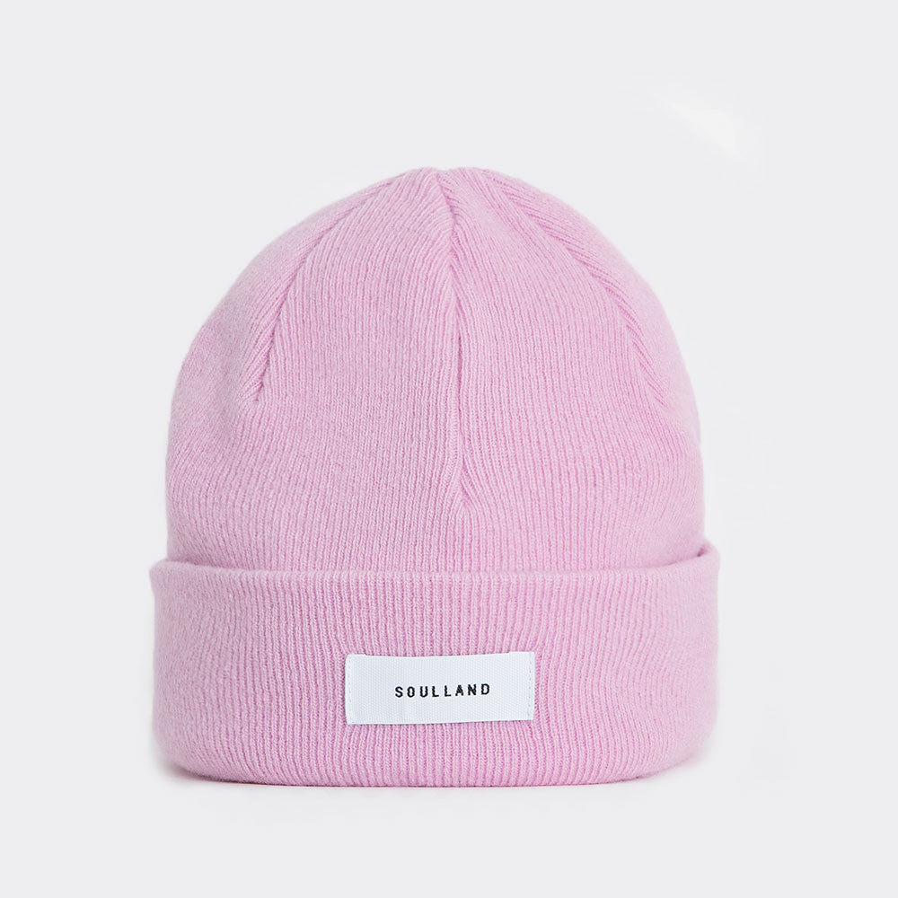 Soulland Villy Beanie – Rose Pink  - CARTOCON