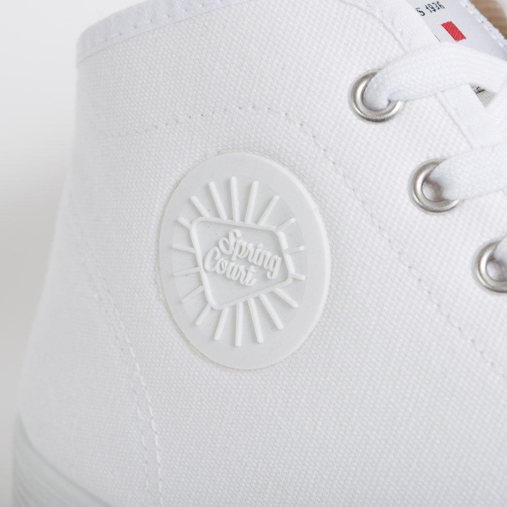 Spring Court B2 Classic Canvas - White - 4