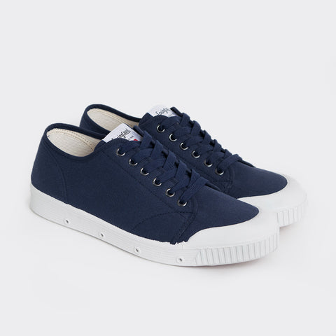 Spring Court G2 Classic Canvas Shoes - Midnight Blue  - CARTOCON