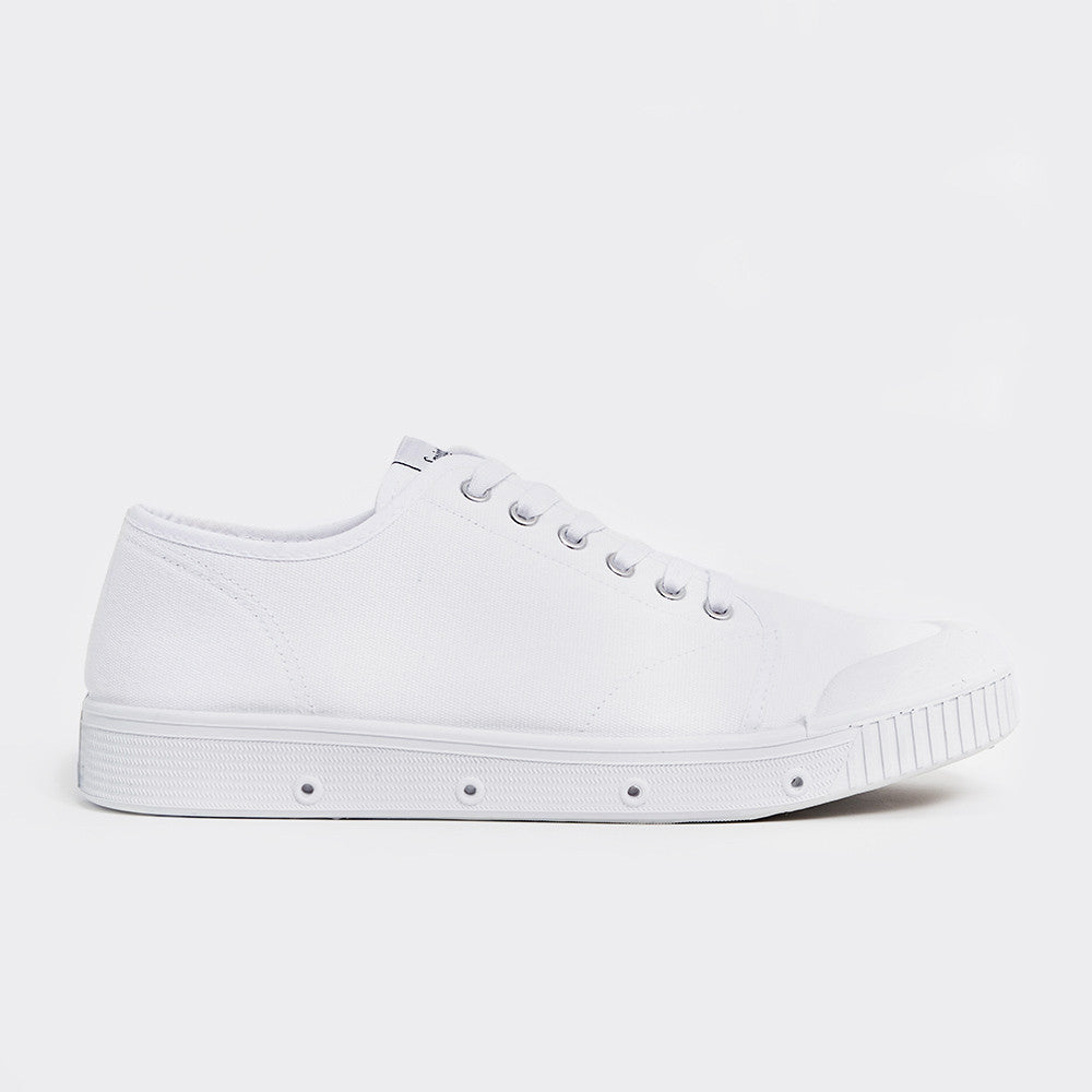 Spring Court G2 Classic Canvas Shoes - White  - CARTOCON