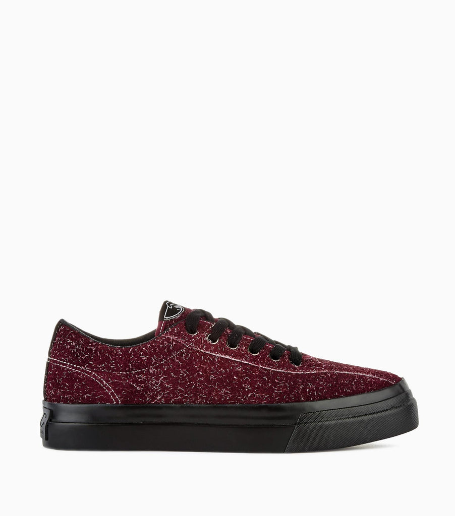 Stepney Workers Club Dellow Hairy Suede - Bordo