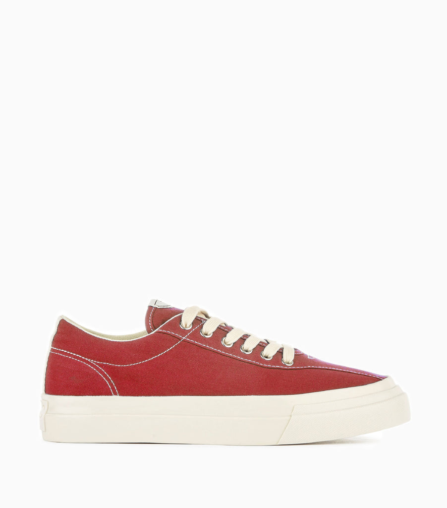 Stepney Workers Club Dellow Canvas Shoes - Dusty Red