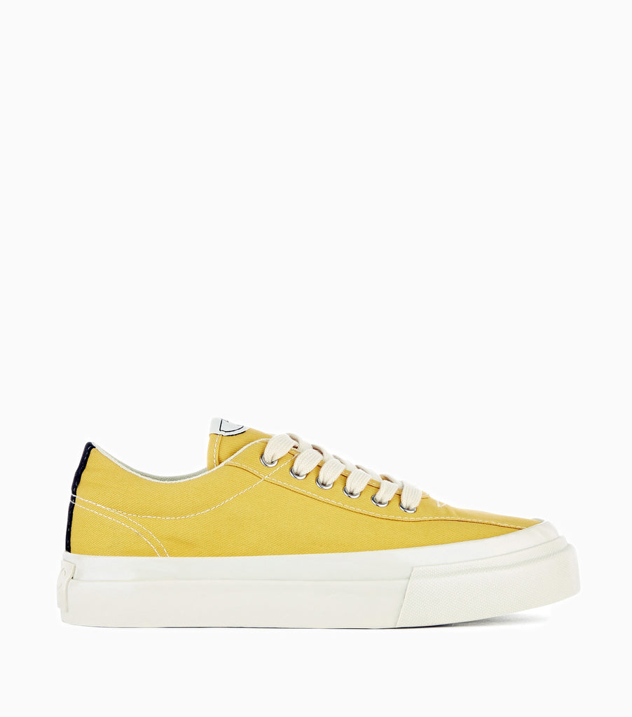 Stepney Workers Club Dellow Canvas Shoes - Dusty Yellow