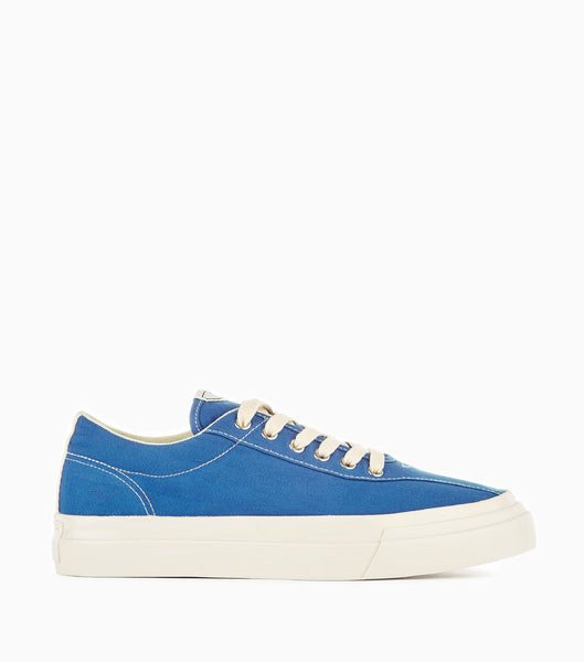 Stepney Workers Club Dellow Canvas Shoes - Dusty Blue Footwear - CARTOCON