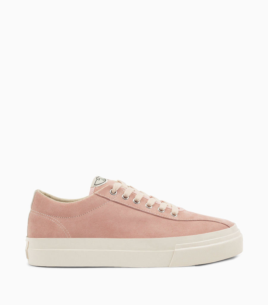 Stepney Workers Club Dellow Suede Shoes - Dusty Pink