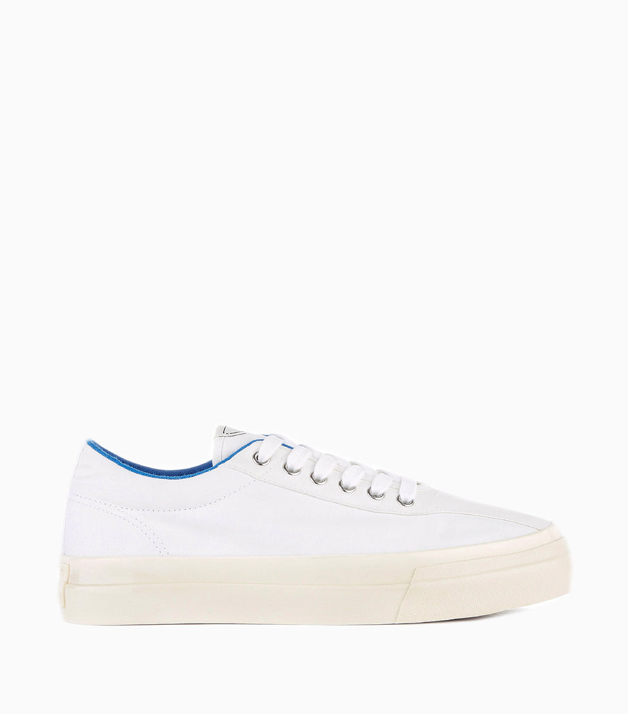 Stepney Workers Club Dellow Canvas Shoes - White/Blue