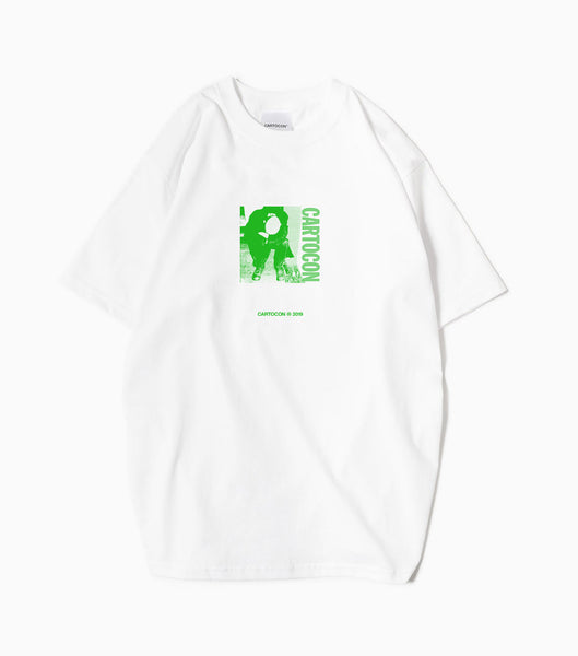 CARTOCON Threat T-Shirt - White T-Shirt - CARTOCON