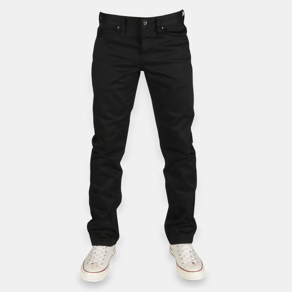 Unbranded 13oz Black Selvedge Chino UB155 - 9