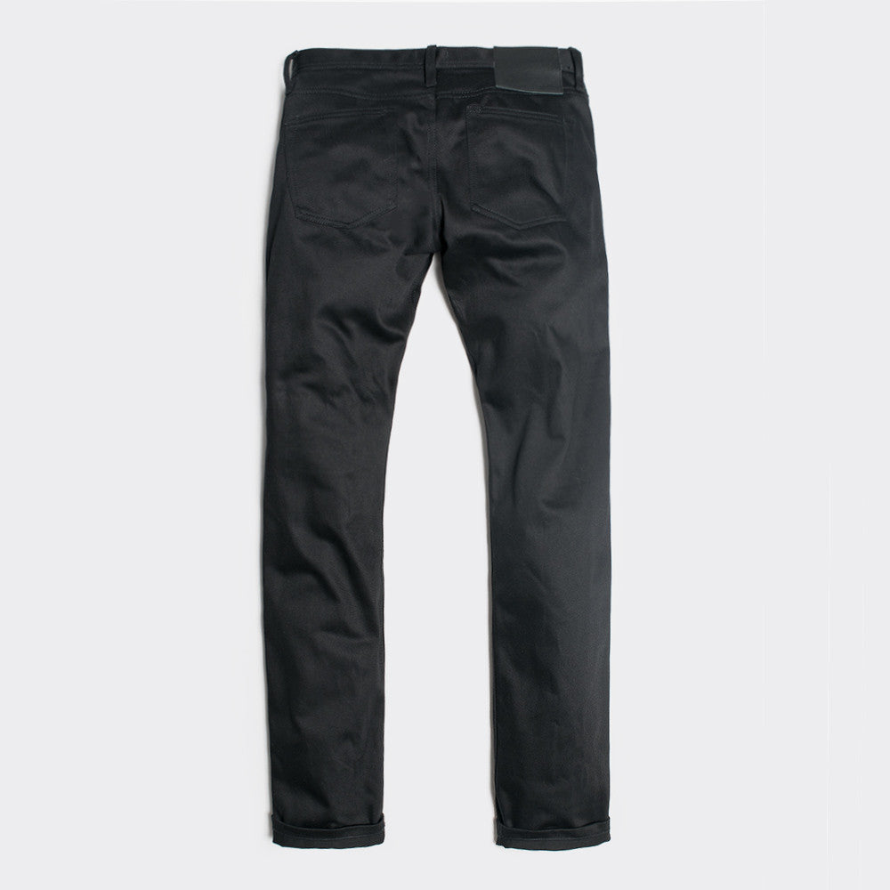Unbranded 13oz Black Selvedge Chino UB155 - 1