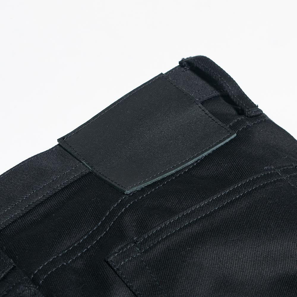Unbranded 13oz Black Selvedge Chino UB155 - 4