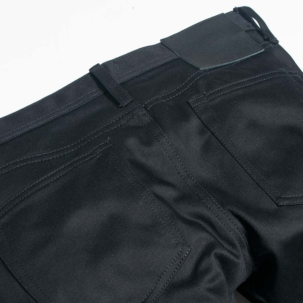 Unbranded 13oz Black Selvedge Chino UB155 - 5