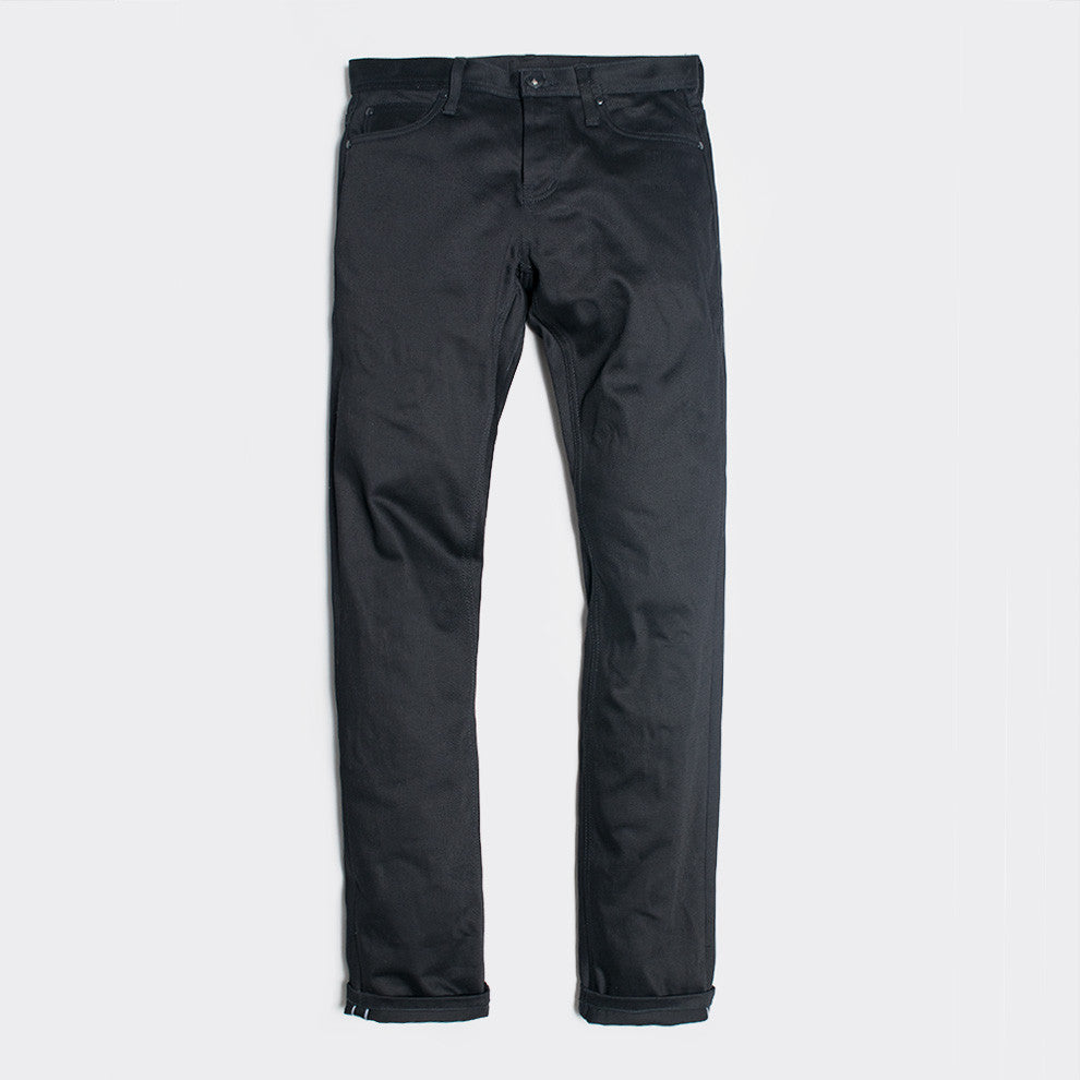 Unbranded 13oz Black Selvedge Chino UB155 - 2