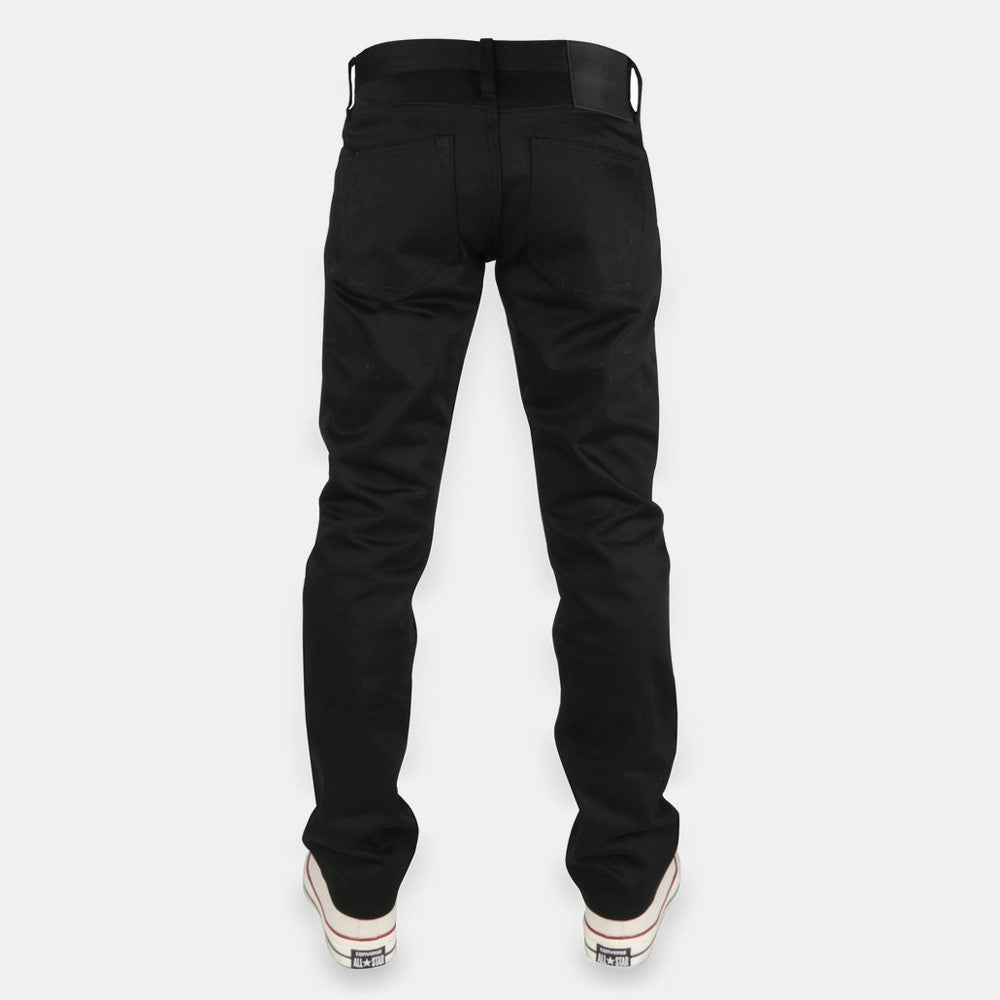 Unbranded 13oz Black Selvedge Chino UB155 - 8