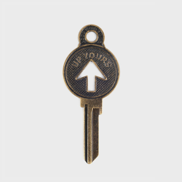 Good Worth Up Yours Key Keyring - CARTOCON