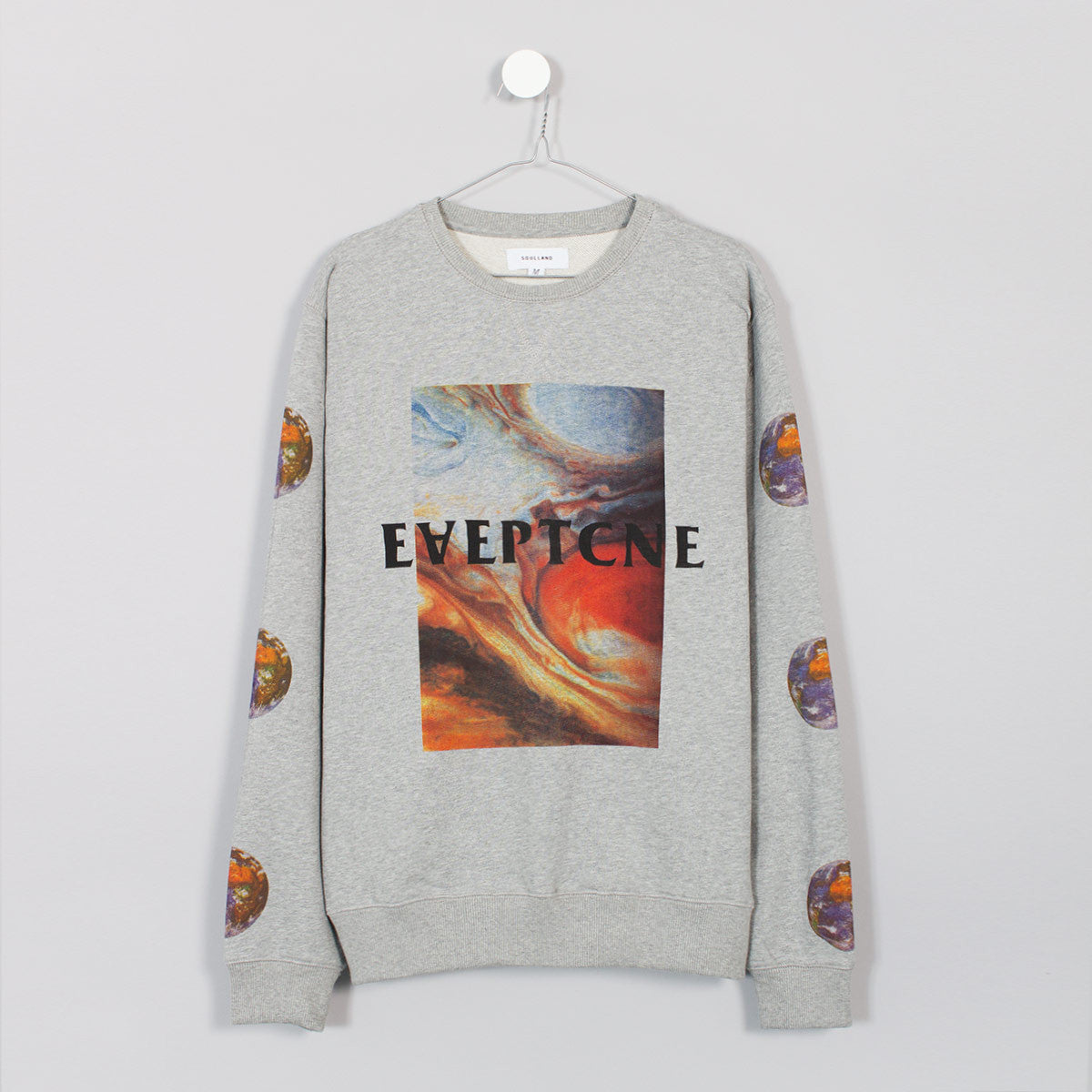 Soulland Varunyu Sweatshirt - Grey  - CARTOCON