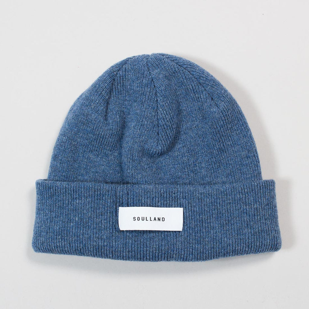 Soulland Villy Beanie - Blue - 1